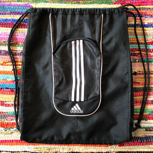 Adidas Backpack Shoe Sneaker Bag Soccer String